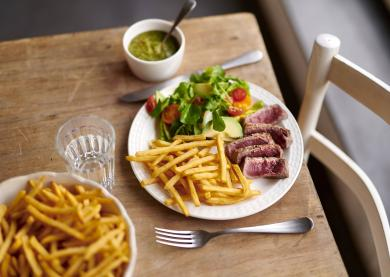Steak Chimichurri Frieten Airfryer McCain